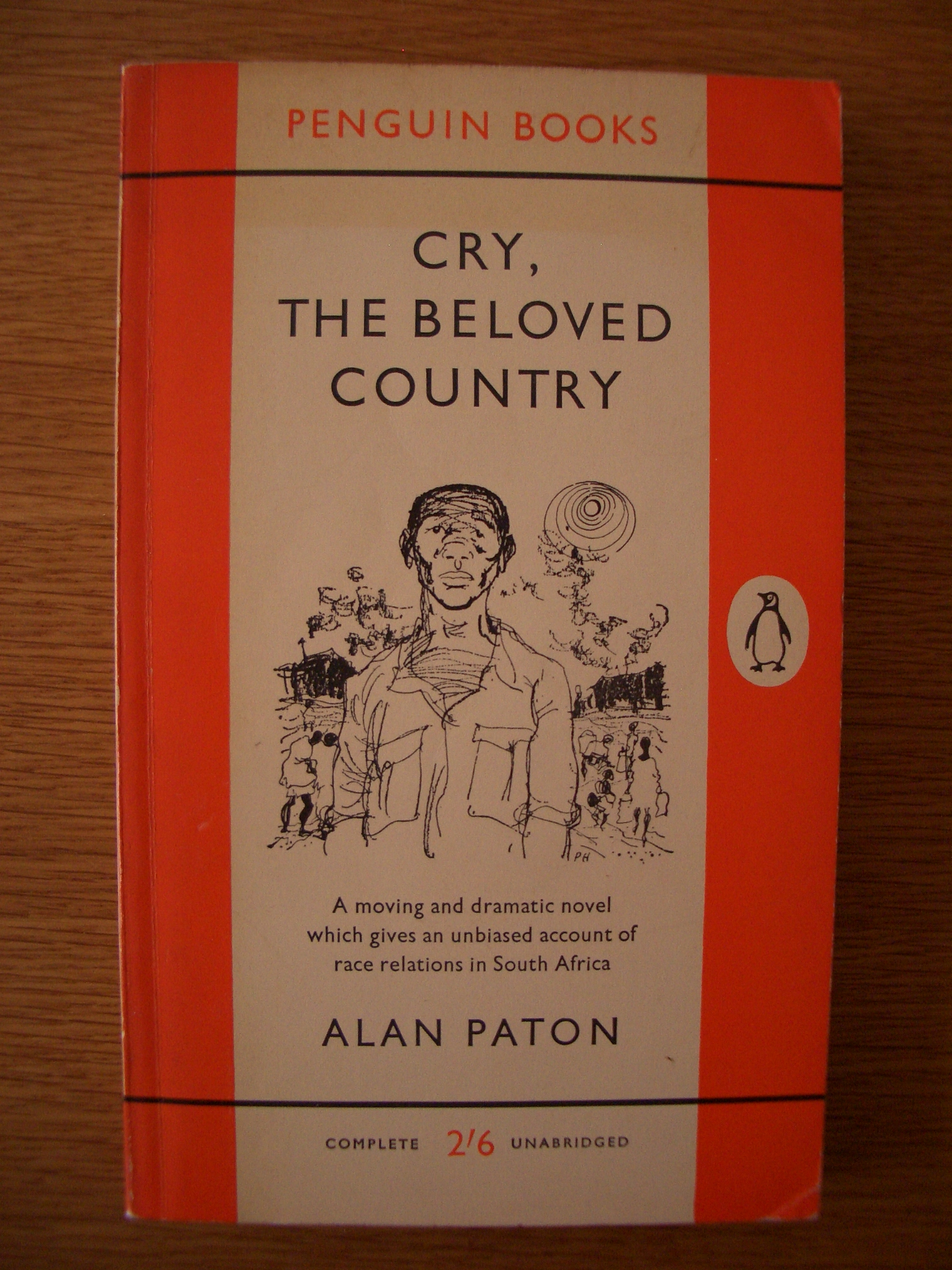 an analysis of the topic of the novel cry the beloved country by alan paton